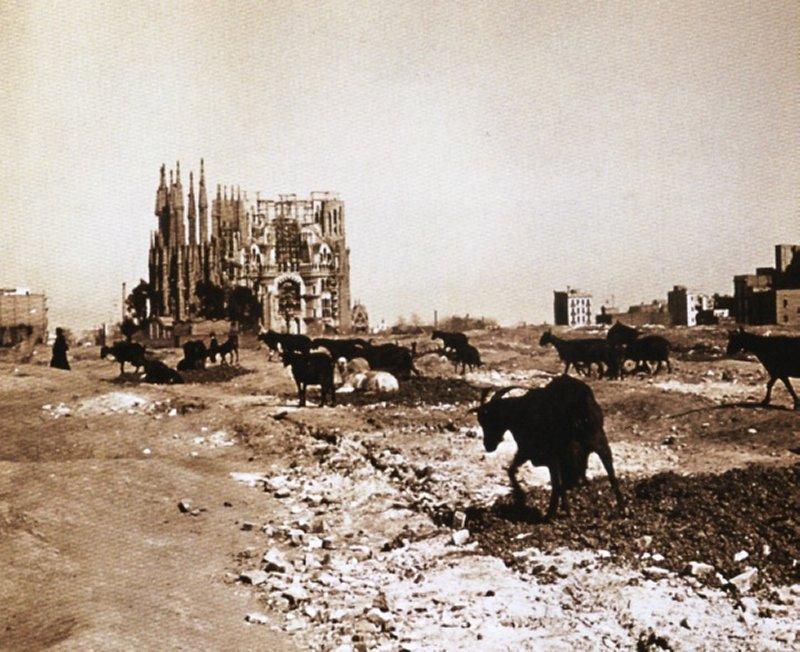 サグラダファミリア 1915